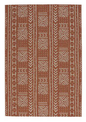 Capel Genevieve Gorder Elsinore Mali Cloth 4722 Cinnamon Area Rug