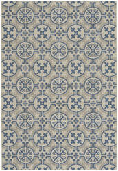 Capel Elsinore Tile 4737 Blueberry Area Rug