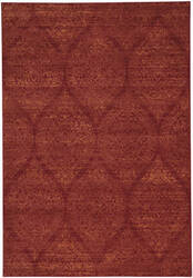 Capel Channel 4742 Flame Area Rug