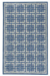Capel Anthony Baratta Framework 9181 Blue Area Rug