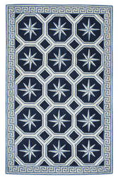 Capel Anthony Baratta Perimeter 9182 Blue Area Rug