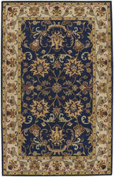 Capel Guilded 9205 Dark Blue Area Rug