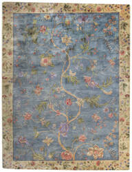 Capel Garden Farms #3 9249 Blue Area Rug