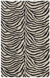 Capel Expedition Zebra 9291 Ebony Area Rug