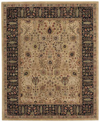 Capel Forest Park Persian Cedars 9292 Dark Beige Area Rug