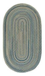 Capel Melange 0226 Blue Beige Area Rug