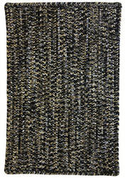 Capel Team Spirit 0301 Black Old Gold Area Rug