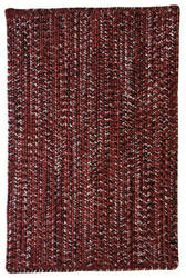 Capel Team Spirit 0301 Maroon Black Area Rug