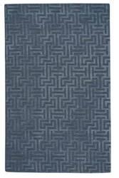 Capel Verenda-Puzzle 9410 Blue Area Rug
