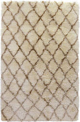 Classic Home Diamond Ritz 3002 Ivory Area Rug