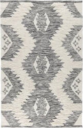 Classic Home Moroccan 3008 Ivory - Black Area Rug