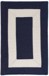 Colonial Mills Rope Walk Cb99 Navy Area Rug