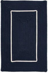 Colonial Mills Doodle Edge Fy52 Navy Area Rug