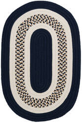 Colonial Mills Flowers Bay Fb52 Navy Area Rug