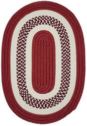 Colonial Mills Flowers Bay Fb70 Patriot Red Area Rug