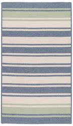 Colonial Mills Frazada Stripe Fz49 Light Blue/Mint Area Rug