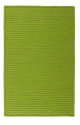 Colonial Mills Simply Home Solid H271 Bright Green Area Rug