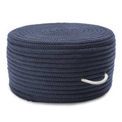 Colonial Mills Simply Home Solid Pouf H561 Navy