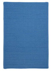Colonial Mills Simply Home Solid H870 Blue Ice Area Rug