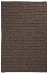 Colonial Mills Natural Wool Houndstooth Hd35 Cocoa Area Rug