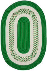 Colonial Mills Crescent Nt63 Leaf Green Area Rug