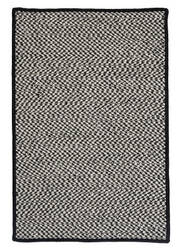 Colonial Mills Outdoor Houndstooth Tweed Ot49 Black Area Rug