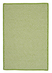 Colonial Mills Outdoor Houndstooth Tweed Ot69 Lime Area Rug