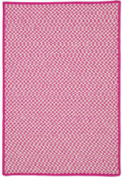 Colonial Mills Outdoor Houndstooth Tweed Ot78 Magenta Area Rug