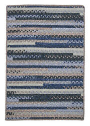 Colonial Mills Print Party Py59 Denim Wash Area Rug