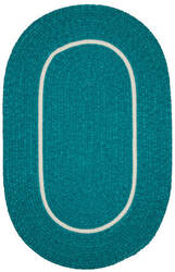 Colonial Mills Silhouette Sl58 Teal Area Rug