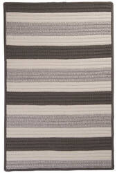Colonial Mills Stripe It Tr09 Silver Area Rug