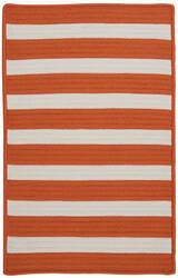 Colonial Mills Stripe It Tr19 Tangerine Area Rug