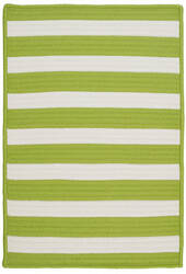 Colonial Mills Stripe It Tr29 Bright Lime Area Rug