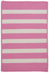 Colonial Mills Stripe It Tr79 Bold Pink Area Rug