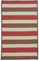 Colonial Mills Stripe It Tr99 Terracotta Area Rug