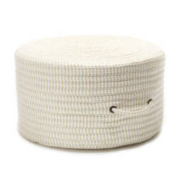 Colonial Mills Ticking Fabric Stripe Pouf Tx10 Canvas