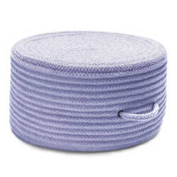 Colonial Mills Solid Chenille Pouf U533 Amethyst