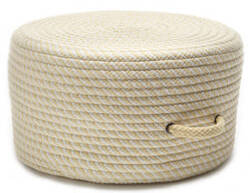 Colonial Mills Bright Twist Pouf Uf31 Banana/White