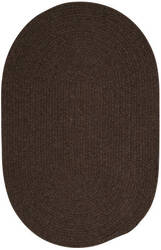 Colonial Mills Bristol Wl04 Dark Brown Area Rug