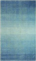 Company C Sari Stripe 10164 Blue Area Rug