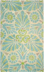 Company C Painted Medallion 10196 Lake Area Rug