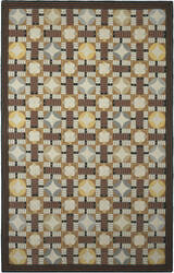 Company C Pachisi 10795 Toffee Area Rug