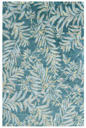 Company C Breezy 10842 Teal Area Rug