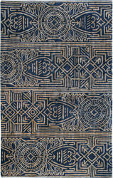 Company C Artifacts 10851 Indigo Area Rug