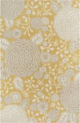 Company C Colorfields Sachi 19307 Gold Area Rug