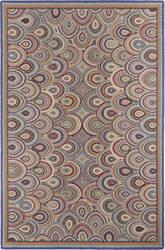 Company C Colorfields Clamshells 19328 Multi Area Rug