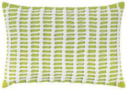 Company C Macrame Pillow 10262k Lime