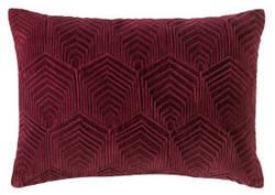Company C Sloan Velvet Pillow 10734 Burgundy
