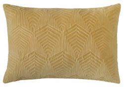 Company C Sloan Velvet Pillow 10734 Camel