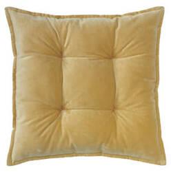 Company C Talia Velvet Pillow 10736 Camel